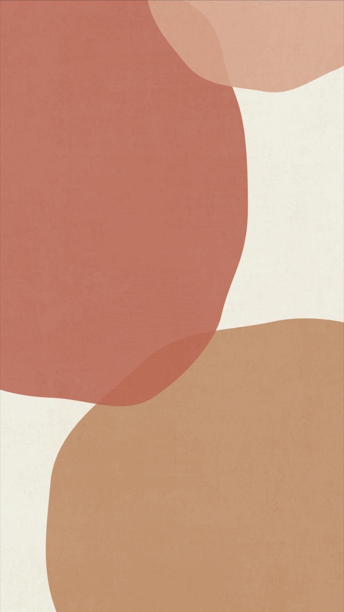 Abstract Boho Phone Wallpapers | Earthy Tones