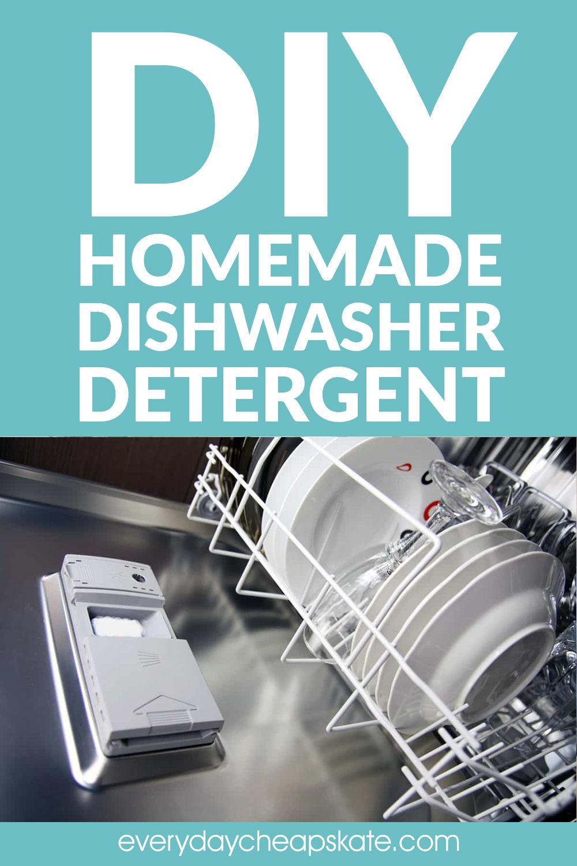 How To Make Homemade Dishwasher Detergent Dishwasher Detergent Homemade Dishwasher Detergent Diy Dishwasher Detergent