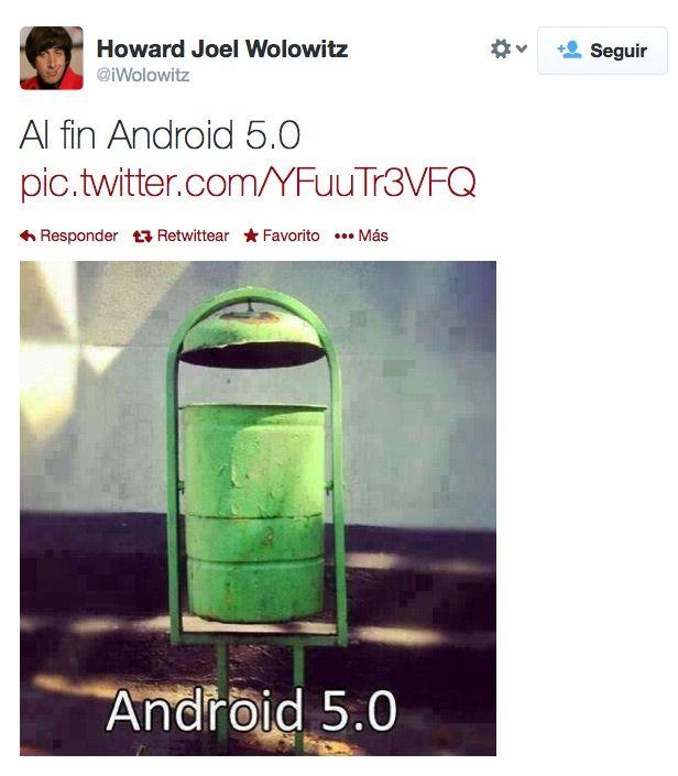 Al fin Android 5.0.