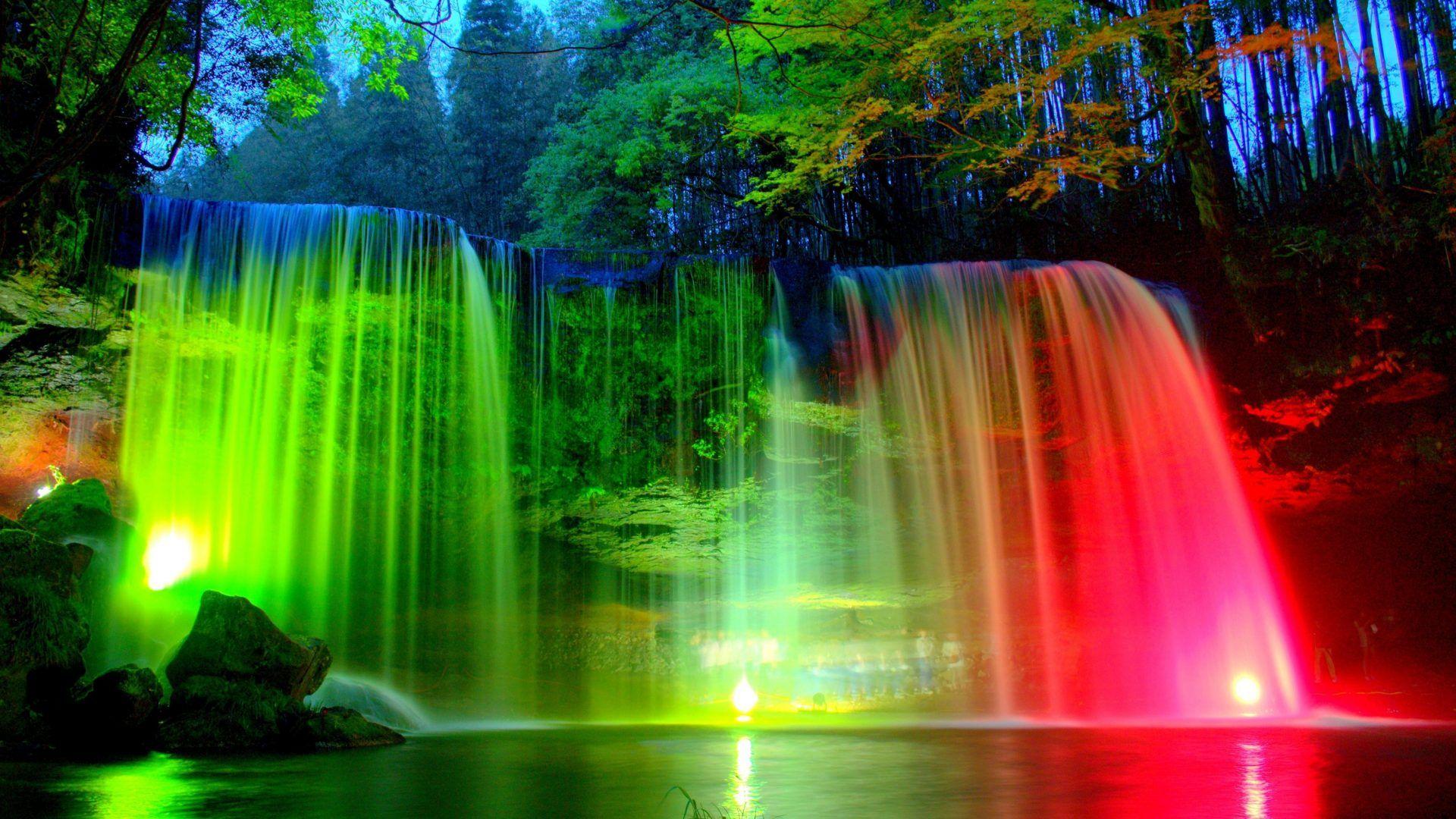 مجموعة كبيرة ومتنوعة من صور وخلفيات الطبيعة الخلابة Nature Wallpapers بدون عنوان Waterfall Wallpaper Beautiful Nature Wallpaper Rainbow Wallpaper Backgrounds