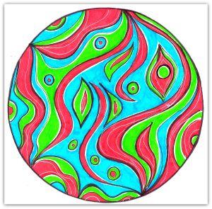 Intuitive Mandala #115 - Shelley Klammer