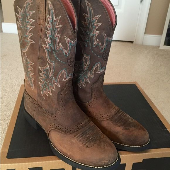 Ariat Women's Heritage Stockman Boot | Shopping, Leather and Shoes
