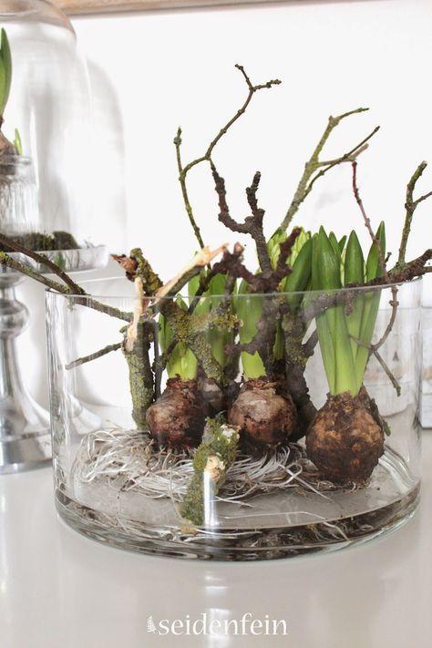 Photo of Hyazinthen, Tulpen, spinnen, Wolle, häkeln, stricken, pflanzengefärbte Wolle, …