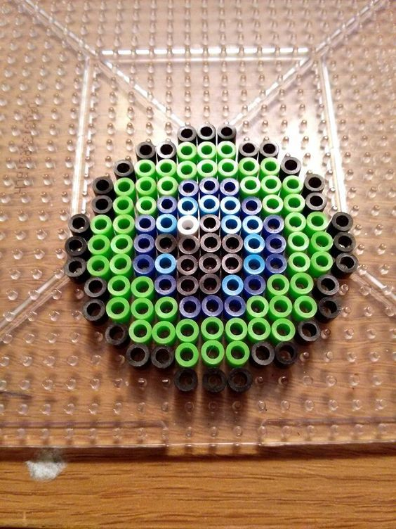 Pin by Leah Lewis on Gamer Party Ideas | Pixel beads, Melty