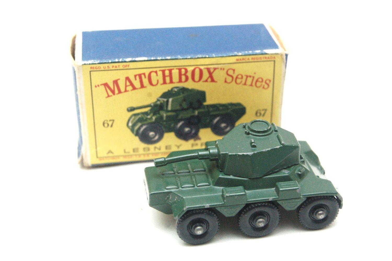 No  67a Saladin Armoured Car Army Tank 1959 w/Original Box