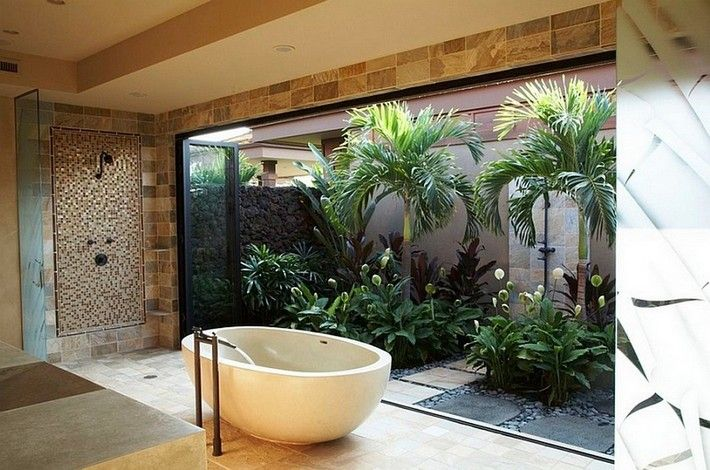Home Spa Bathroom Design Ideas Spa Bathroom Design Outdoor