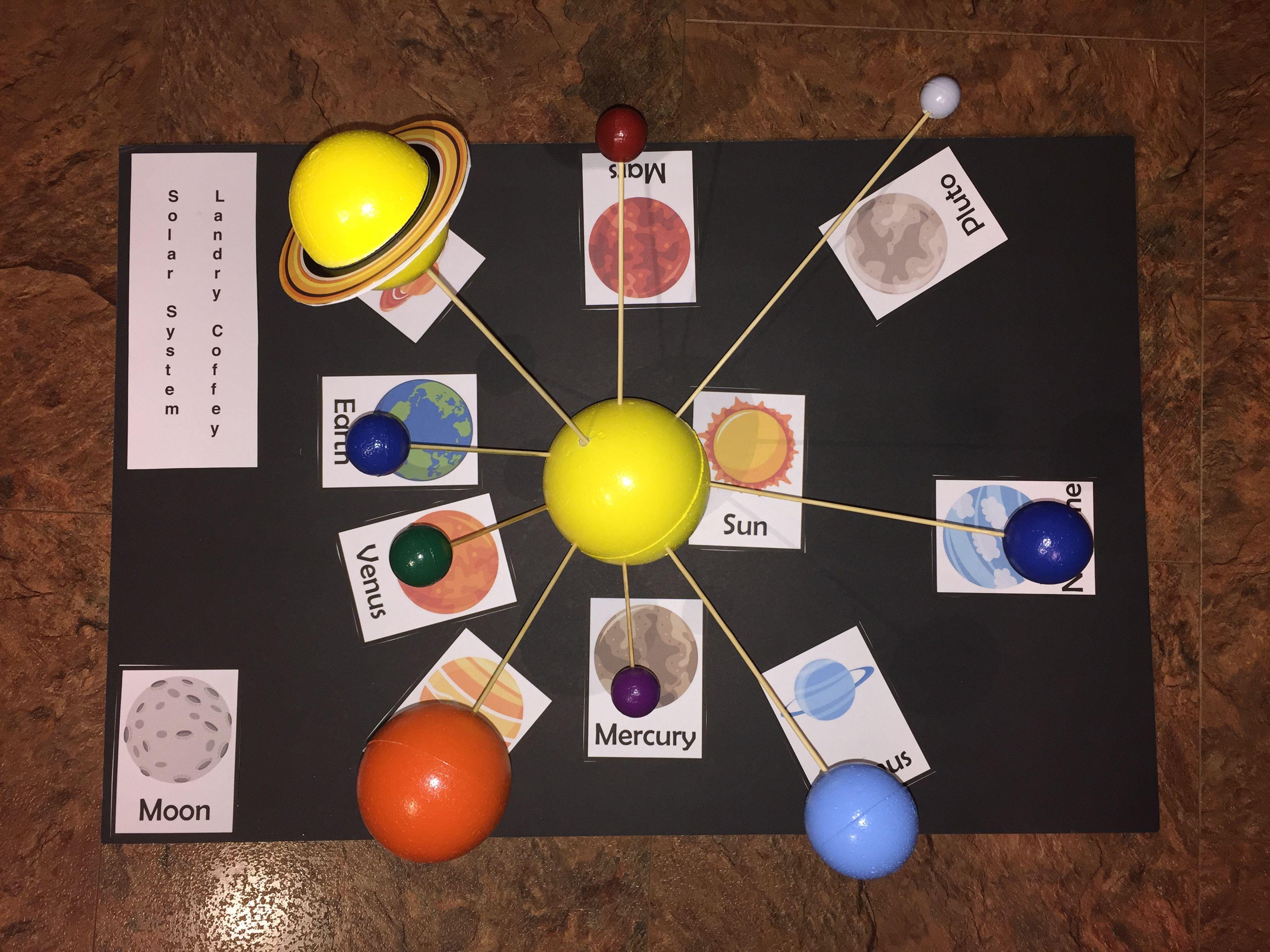 Solar System 3rd Grade Project
