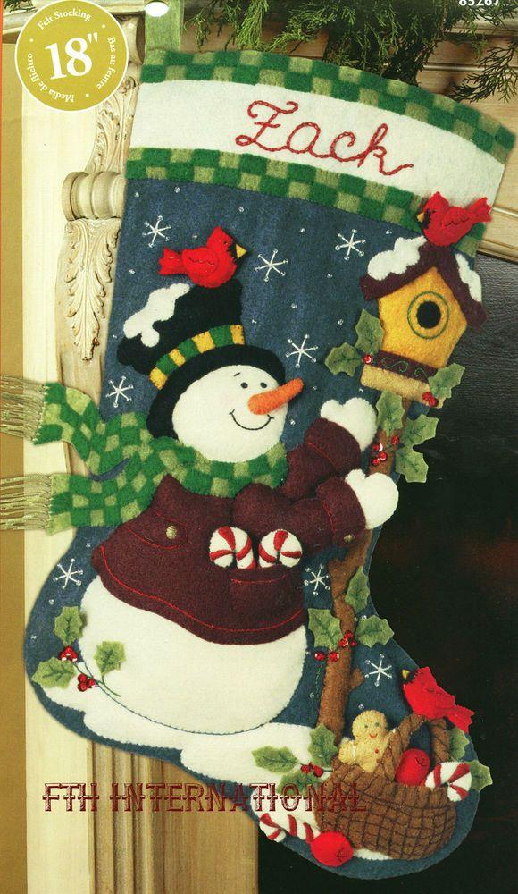 Bucilla Folksy Snowman ~ 18\