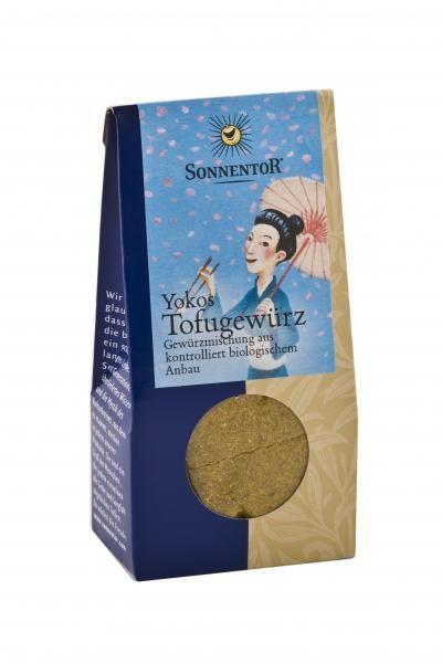 Für die Tofu- und Gemüseliebhaber unter den Grillprofis!  Sonnentor Yokos Tofugewürz kbA, 32 g