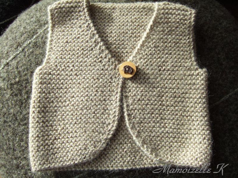 ce0e6d33a01ff modèle tricot gratuit gilet de berger   Mercerie ancienne   Tricot ...