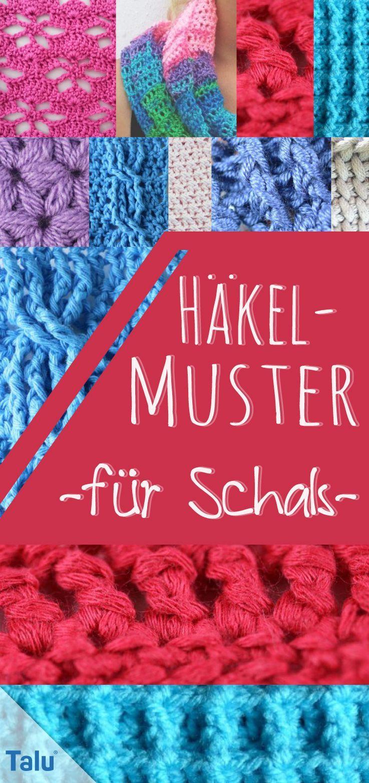Photo of Häkelmuster für Schals: 9 kostenlose Muster – Häkeln – #für #Häkelmuster #h…