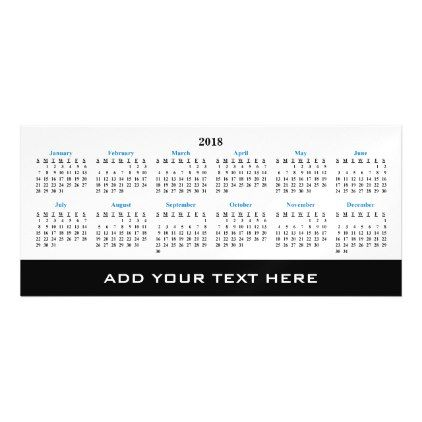 Create Your Own  Custom Calendar Magnetic Card  Create Your