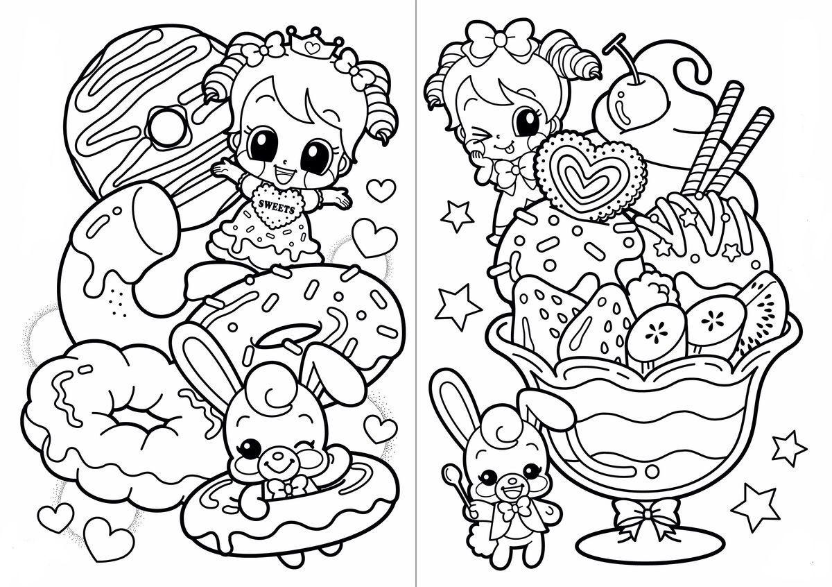 45++ Printable kawaii coloring pages ideas