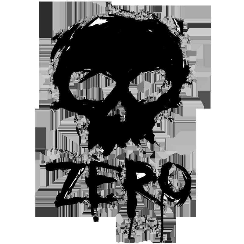 Zero Skateboards Logo De La Marca Monstruo De Fantasia Dibujos