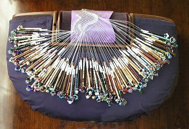 Irish bobbin lace!