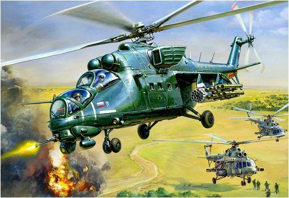 Mi-35 in Chechenia