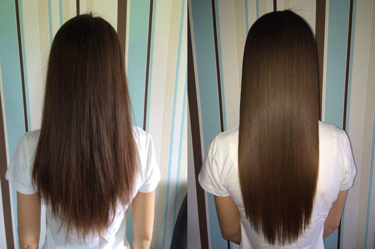 Aceite de coco para el cabello lacio