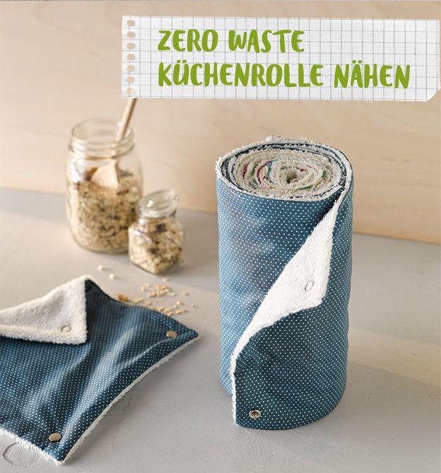 Zero Waste Küchenrolle nähen