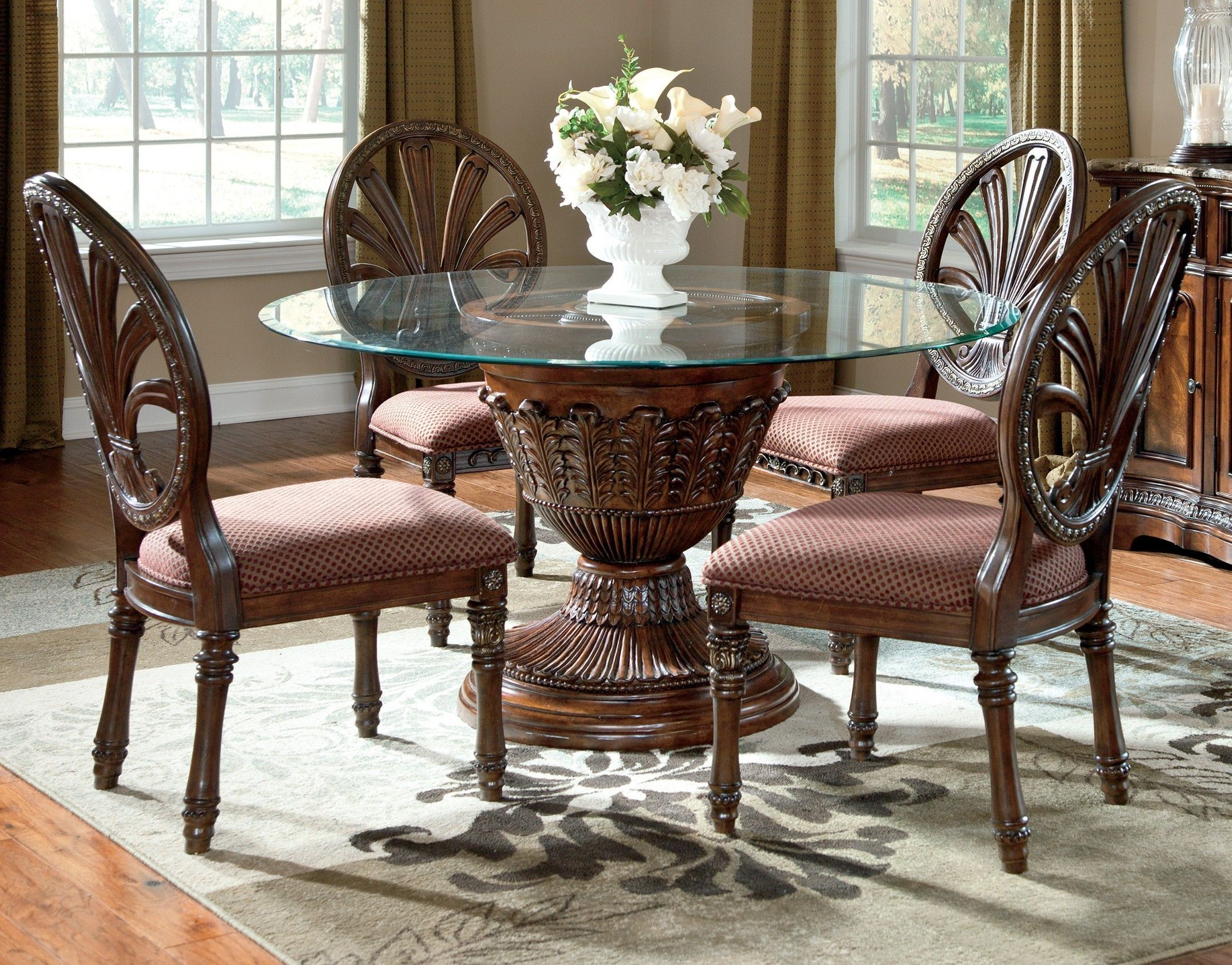 Sparky ashley dining room furniture cream color Makes Residence Warmer : dining table set ashley furniture - pezcame.com