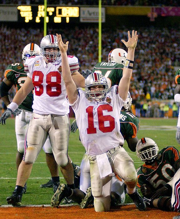 2003 National Championship Fiesta Bowl Ohio State V Miami I