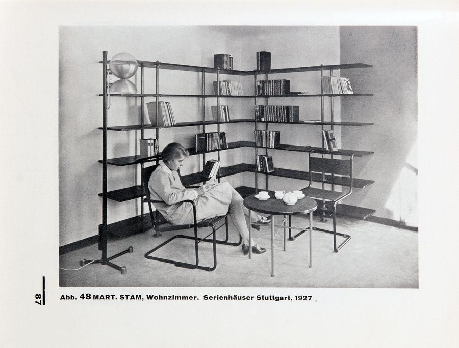 BAUHAUS – J[ACOBUS] J[OHANNES] P[IETER] OUD. HOLLÄNDISCHE ARCHITEKTUR. München, Albert Langen 1929. Mart Stam, Serienhäuser Stuttgart, 1927.