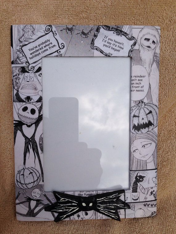 Disneys Nightmare Before Christmas Jack Skellington Decoupaged