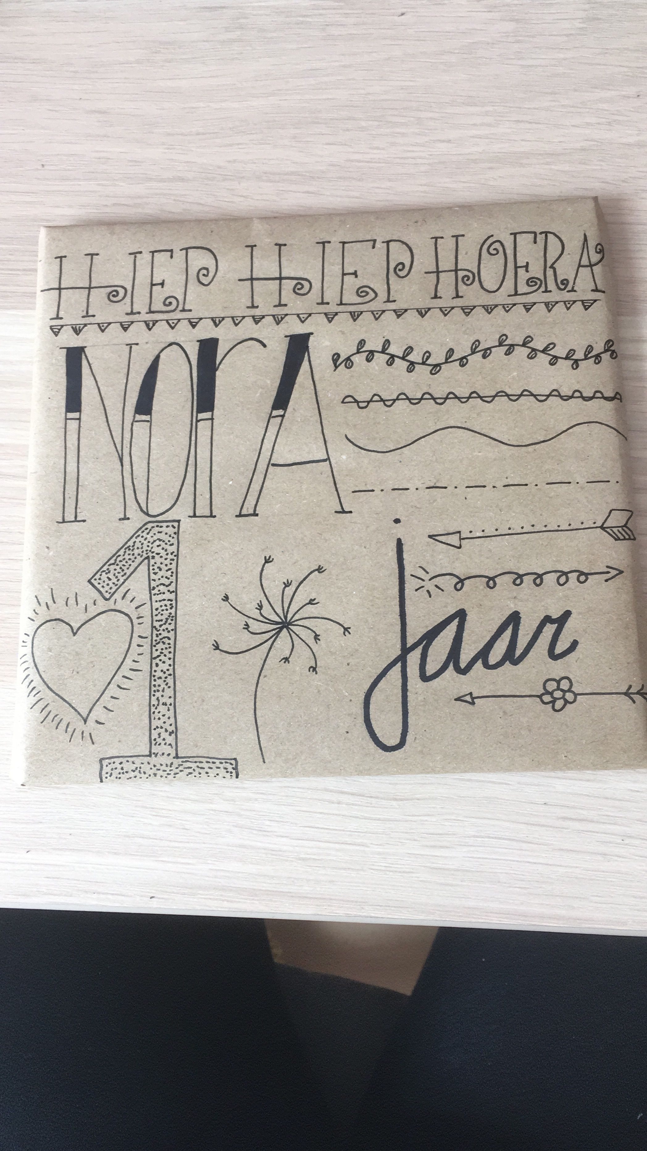 My first Handlettering project!
