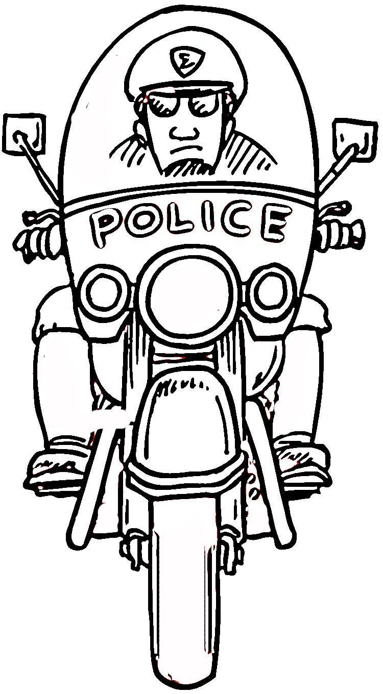 Increíble Ayudantes De La Comunidad Para Colorear Policías Fotos ...