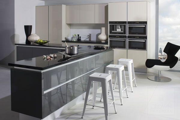 Best Kitchen Compact Kitchen Design Grey And White Kitchen 400 x 300