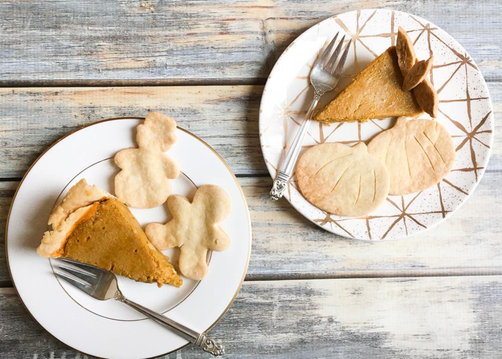 Perfect Low-FODMAP Pumpkin Pie; Gluten-free, Dairy-free #dairyfreesmoothie
