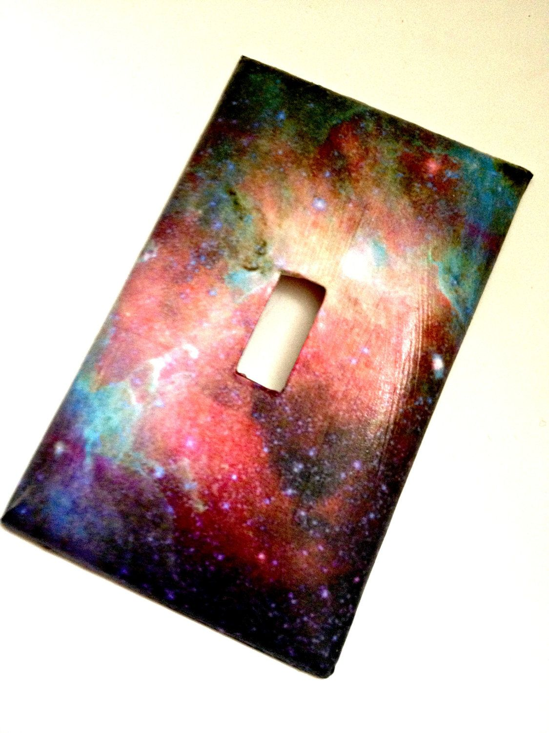 Single Light Switch Plate Cover Galaxy Space Galaxy