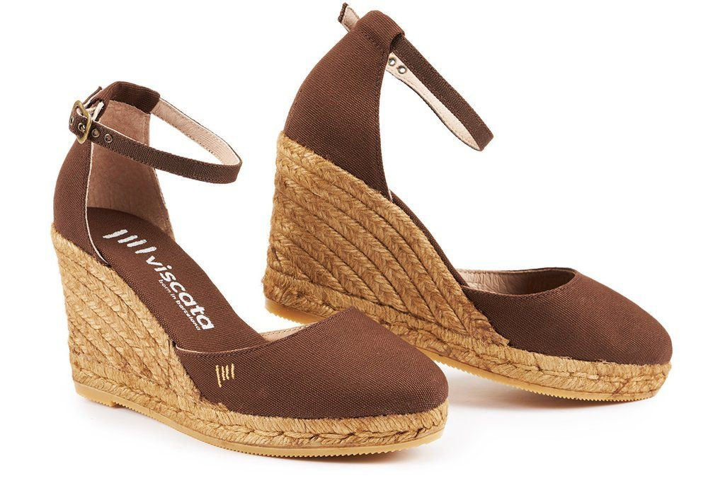 68fcc2384 Estartit Canvas Wedges - Brown