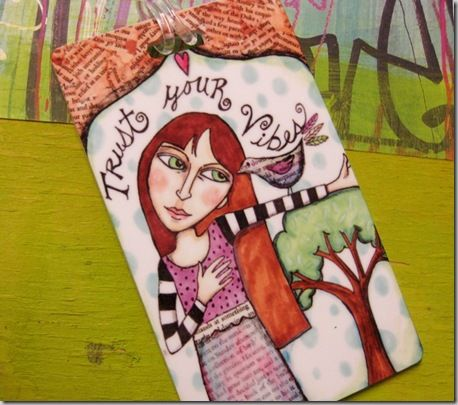 Violette Clark - Luggage Tag