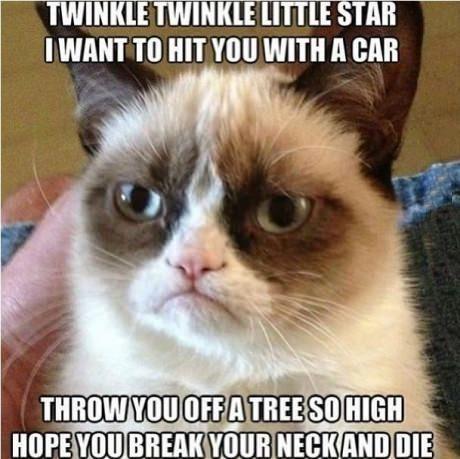 Twinkle twinkle little star….