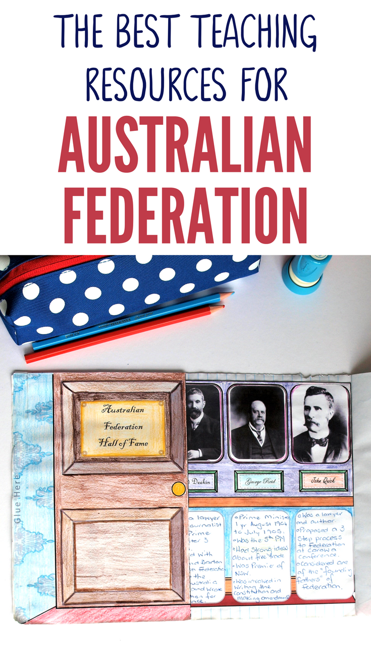 This Fantastic Range Of Australian Federation Teaching Resources Are