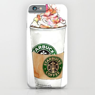 Buy Starbucks by Vicky Ink. as a high quality iPhone