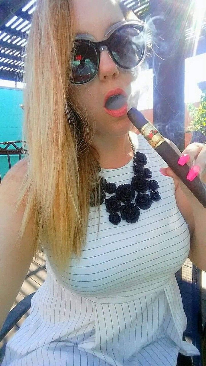 Pin by myvirtualcigar on Cigar Ladies Cigar girl