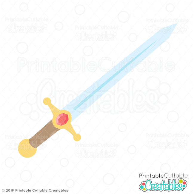 photo relating to Printable Cuttable Creatables named Knight Sword Cost-free SVG Report - Absolutely free SVGs for Silhouette Cricut