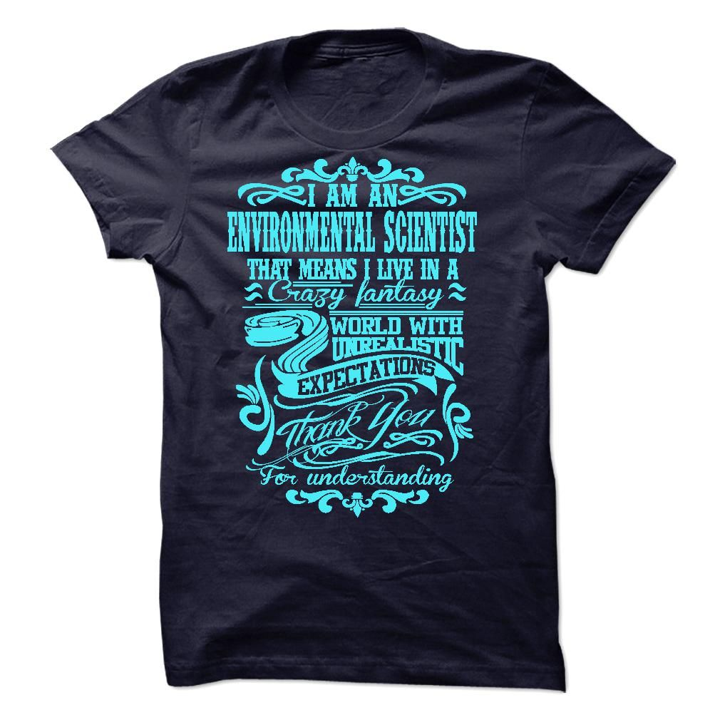 i am ENVIRONMENTAL SCIENTIST T-Shirts, Hoodies. BUY IT NOW ==►…
