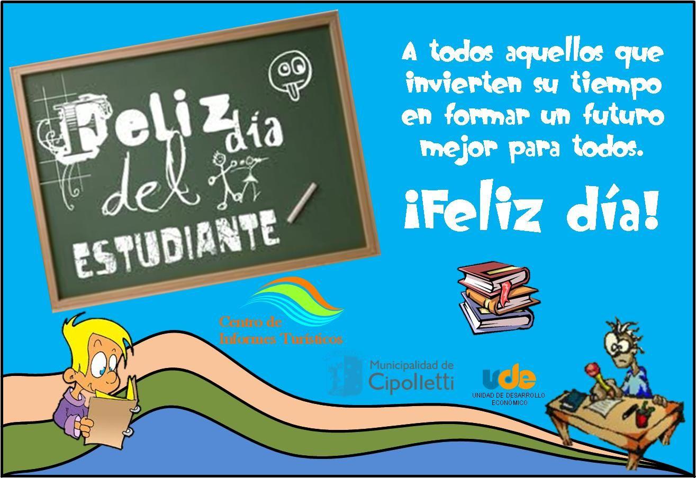 Dia del estudiante   Feliz dia del estudiante, Dia del estudiante, Imágenes  de feliz día
