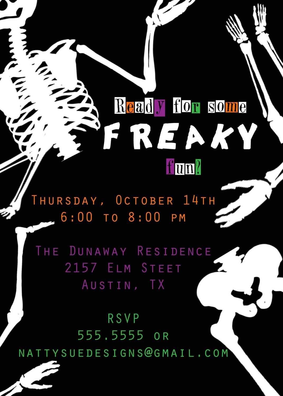 Halloween Party Invitation Wording http//www