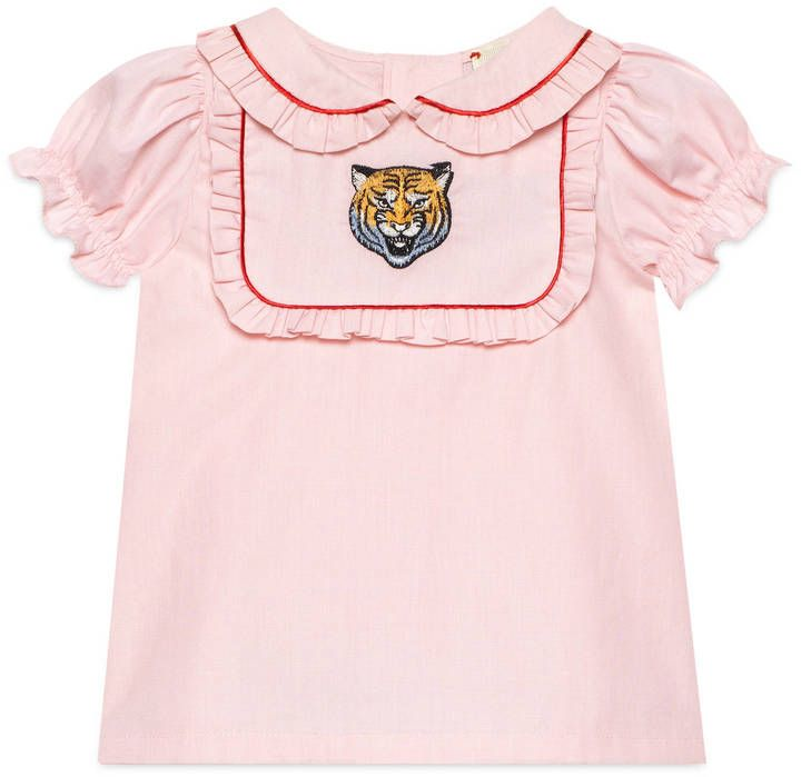 c2a91a65d6f0 Baby cotton shirt with tiger