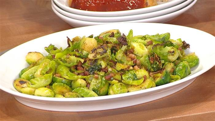 Pancetta is the key to Valerie Bertinelli's amazing Brussels sprouts