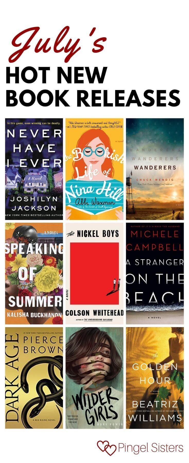 What to Read Now: July 2019 Book Releases #bookstoread