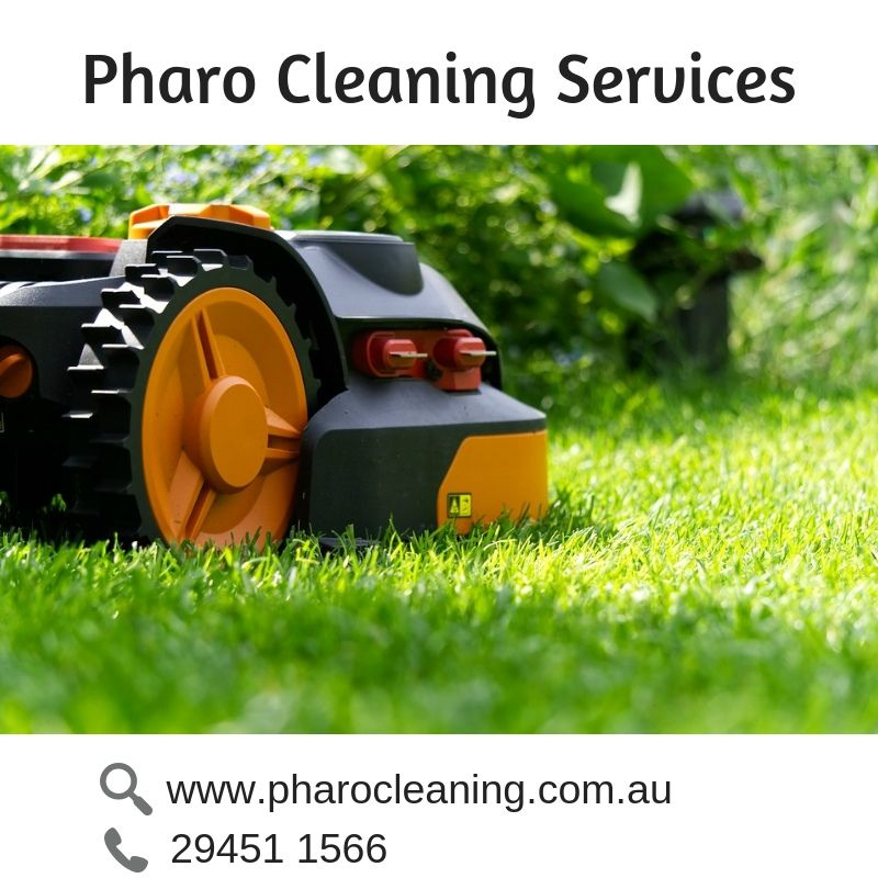 Pharo Cleaning Services provide lawn mowing services in