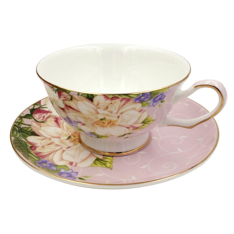 Creworld Porcelain Vintage Tea Coffee Cup