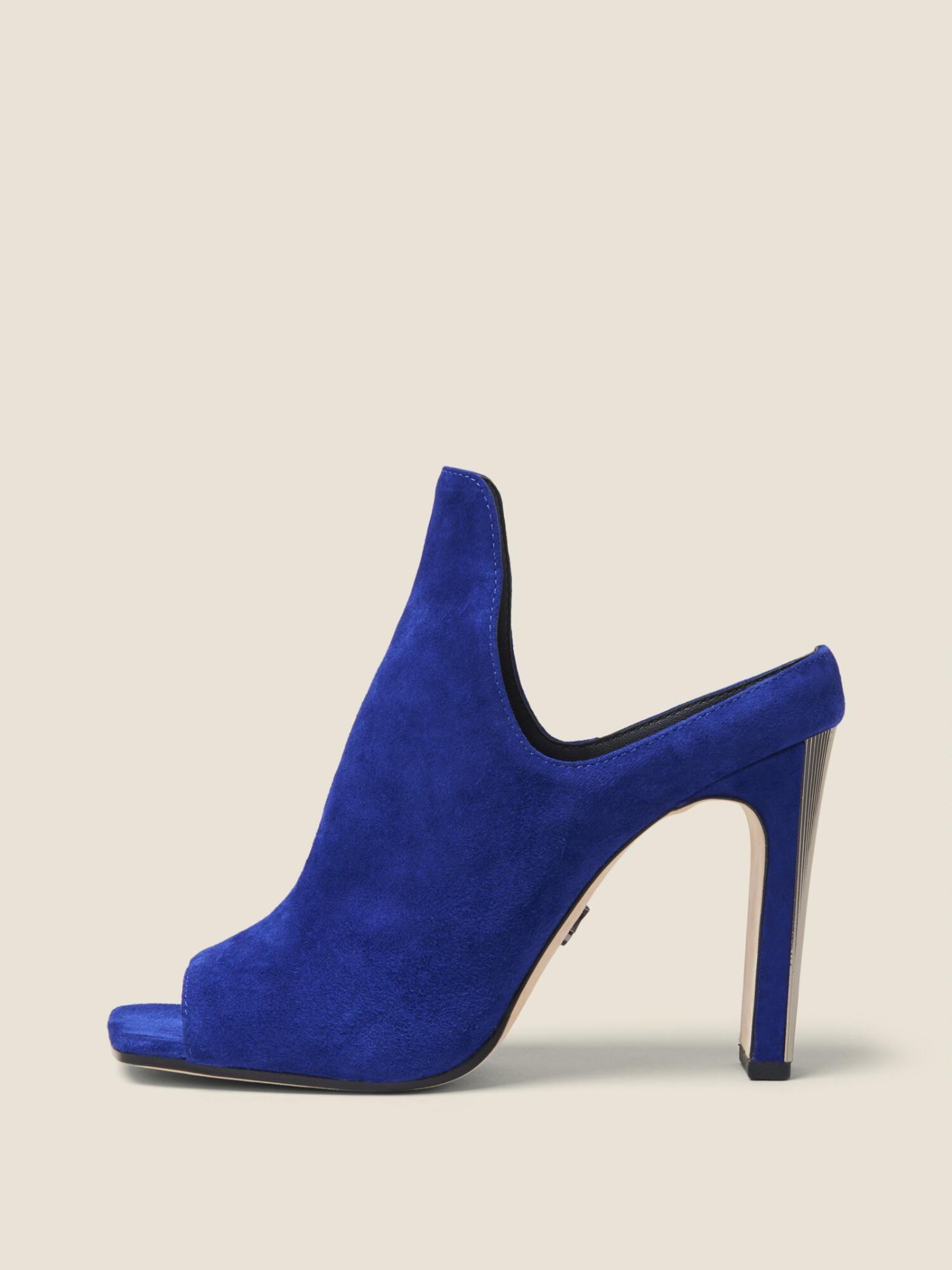 333e25bf90a4f Love this by DONNA KARAN Sutton Suede Mule, Sapphire - $159 (36%Off ...