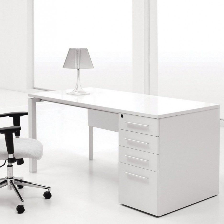 Furniture Cool Computer Desks Design By Ikea White Computer Desk With Drawers By Ikea F Office Interior Design White Home Office Furniture Home Office Design