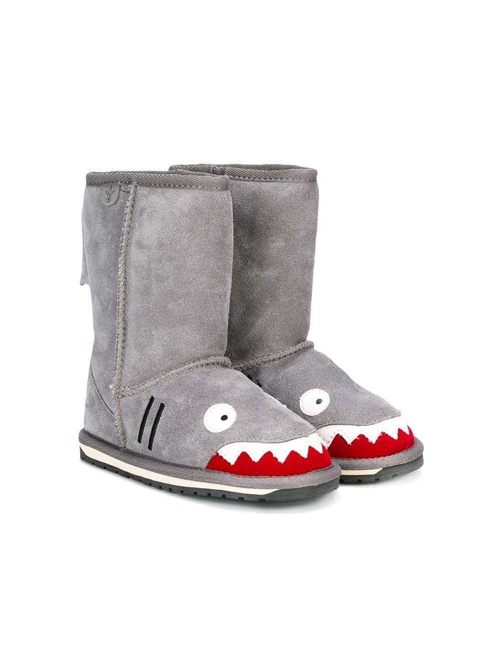 f01aec24c Emu Kids shark shearling boots - Grey in 2019   Products   Shearling ...