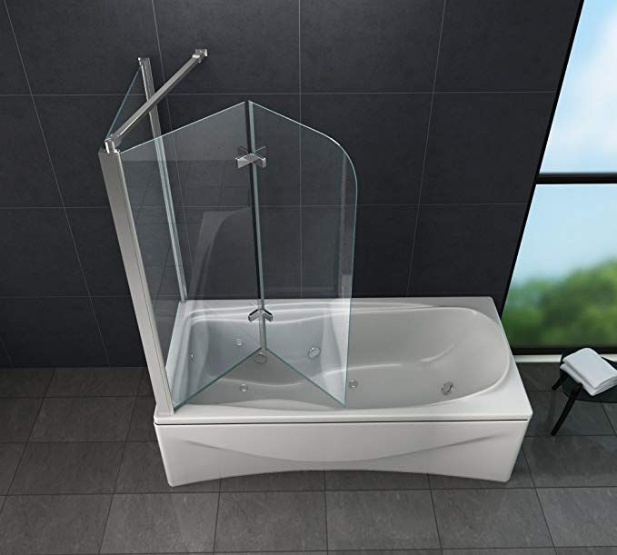 Eck Duschtrennwand Around 75 Badewanne Amazon De Baumarkt